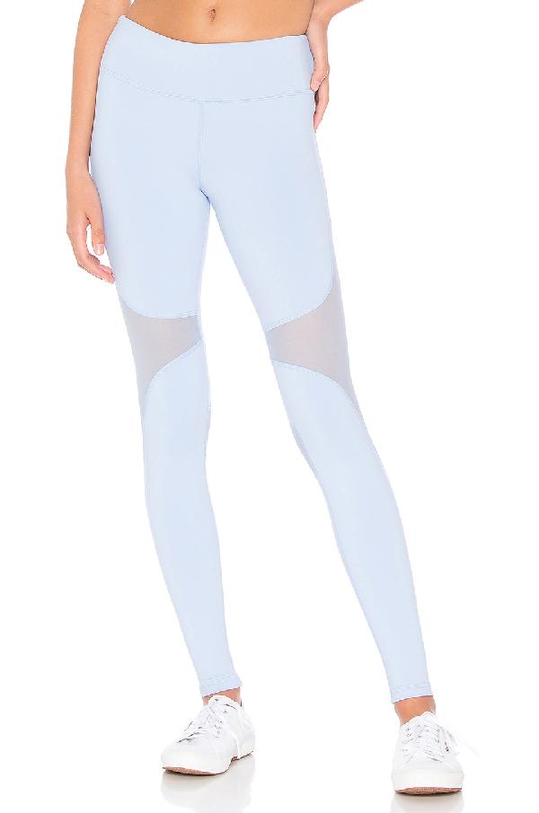 50763d66095a6 Alo Yoga Coast Legging In Baby Blue | ModeSens