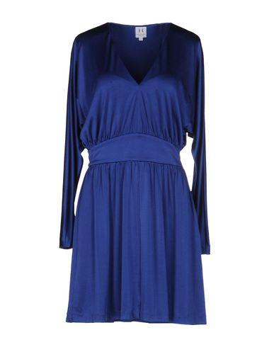 Halston Heritage Short Dress In Blue