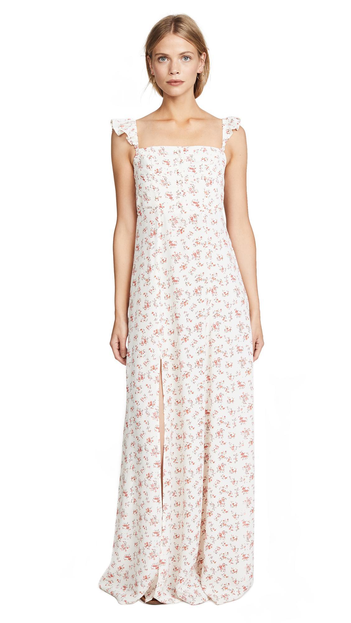 fae7b69f499 Flynn Skye Bardot Maxi Dress In Country Side Blooms