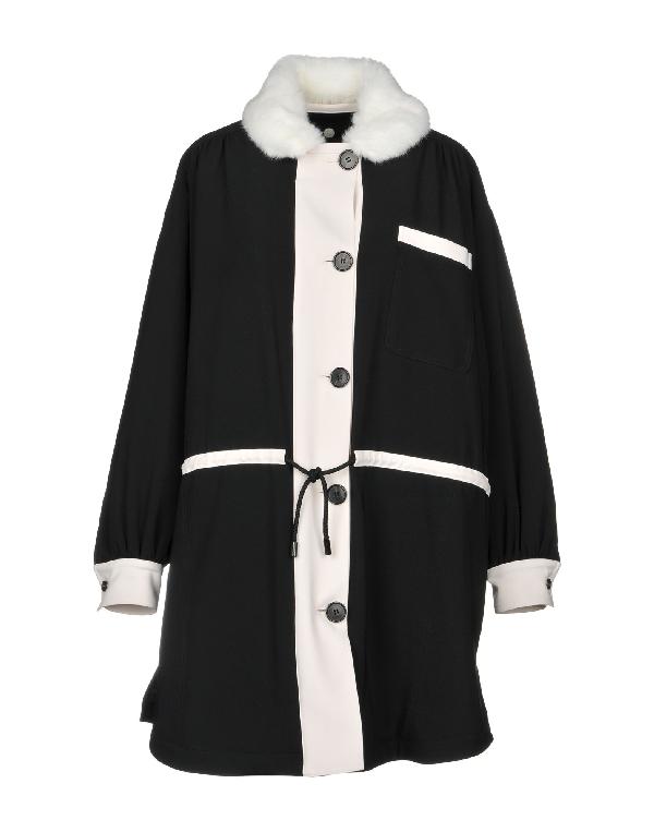Rossella Jardini Coat In Black