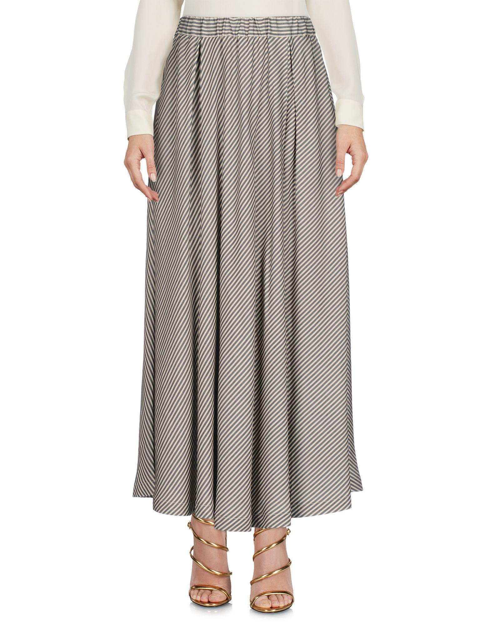 Barena Venezia Maxi Skirts In Beige