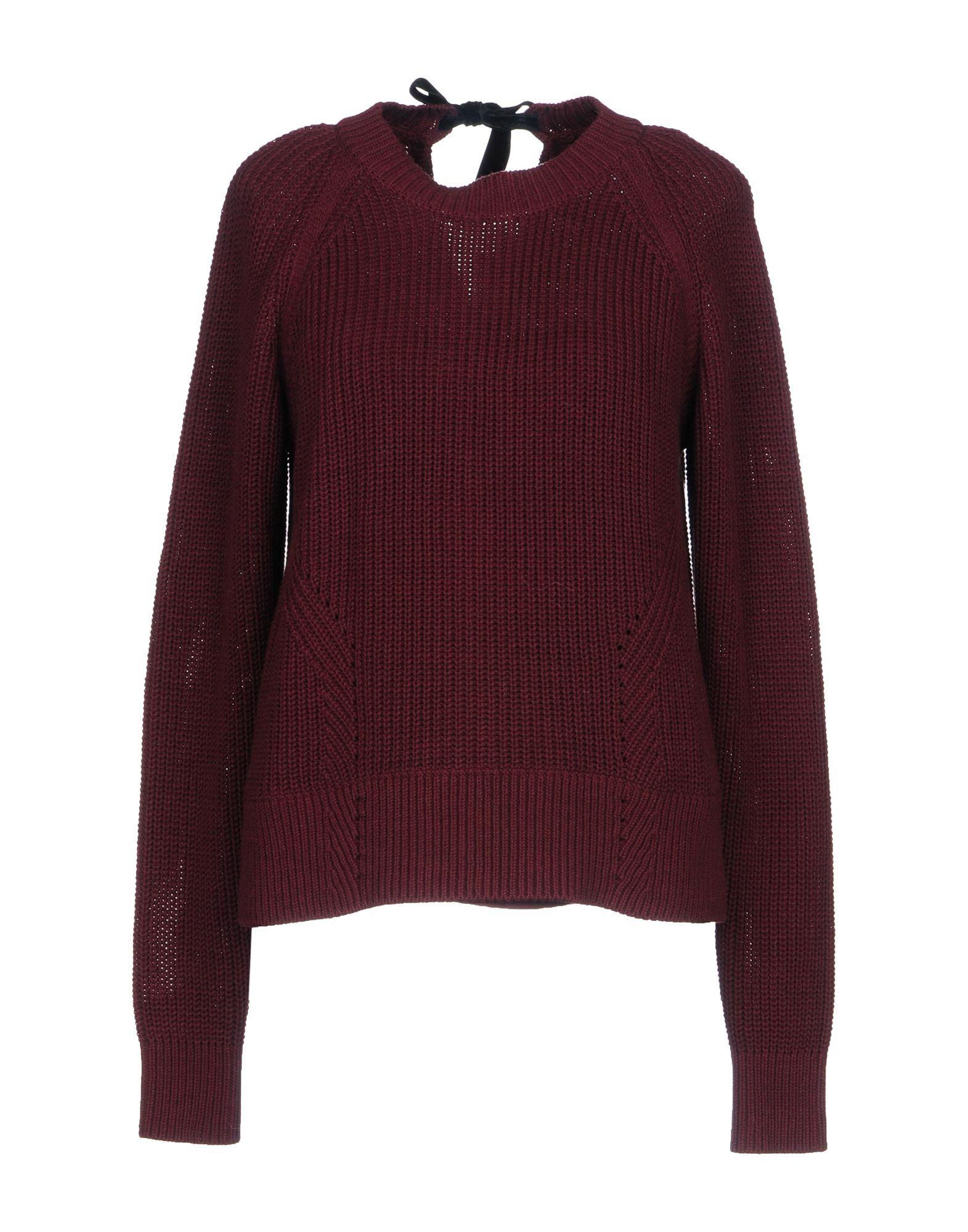 Muveil Sweater In Deep Purple