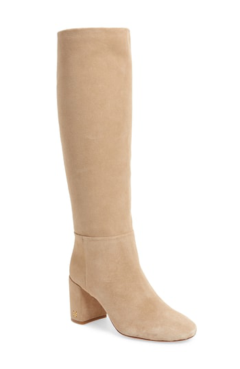 d0ce18be910 Tory Burch Brooke Slouchy Boot In Perfect Sand