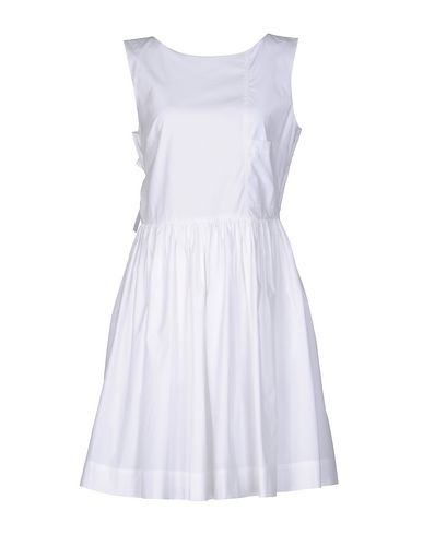 Marc By Marc Jacobs Short Dress In White