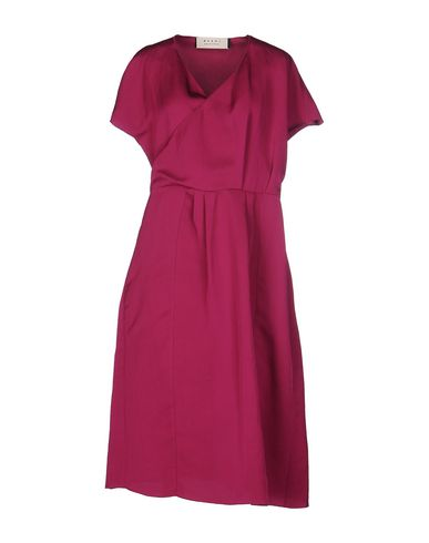 Marni Knee-length Dress In Fuchsia