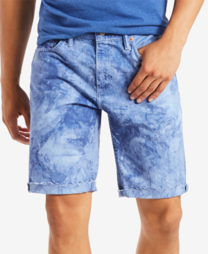 362fcaaeed76f6 Levi s Men s 511 Slim-Fit Cutoff Ripped Jean Shorts In Blue Bird ...