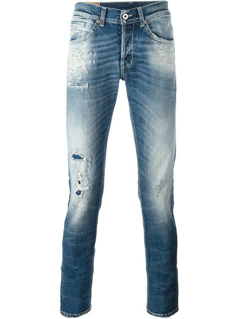 Dondup 'george' Skinny Fit - Blue
