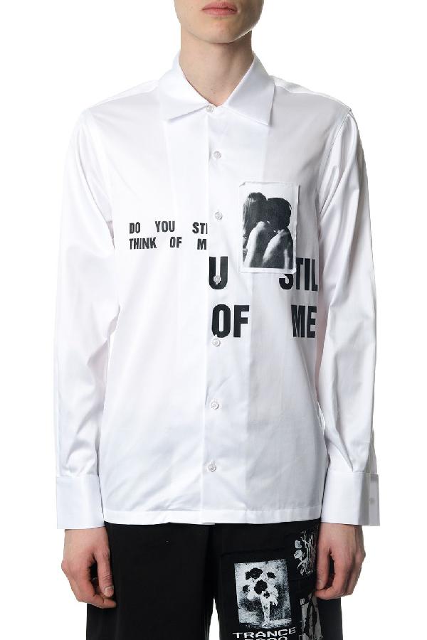 Misbhv Dyston White Shirt