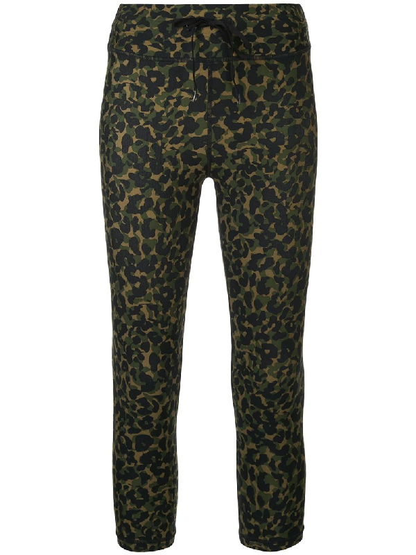 63b91c2f7976a The Upside Nyc Leopard Camo-Print Stretch-Jersey Leggings In Green ...