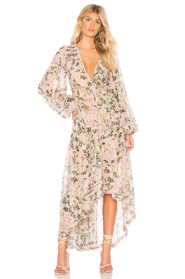 2d34d6f8b6 Rococo Sand X Revolve Flora Maxi Dress In Nude Floral