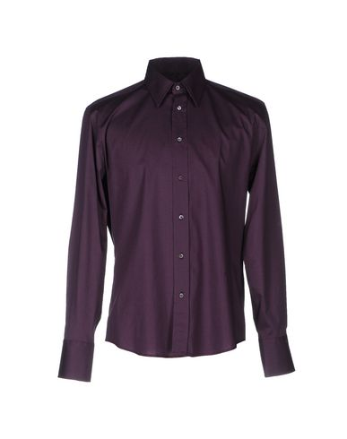 John Richmond Solid Color Shirt In Purple
