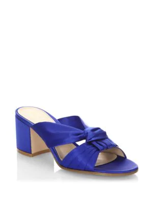 Gianvito Rossi Twisted Knot Slides In Ming