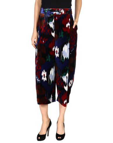 Emporio Armani Cropped Pants & Culottes In Maroon