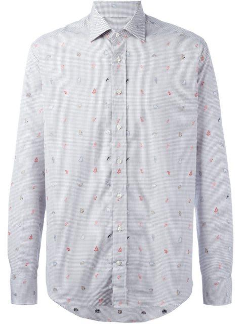 Etro 'animals' Print Shirt