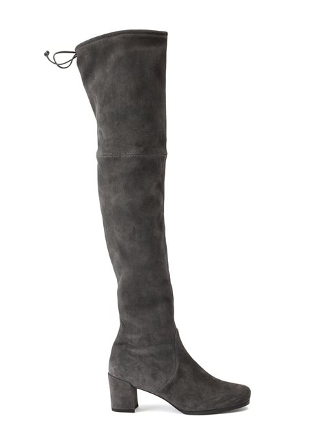 Stuart Weitzman 'tieland' Boots In Grey