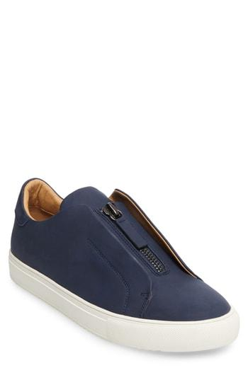 9f18691ecc9 Steve Madden Everest Zip Sneaker In Navy