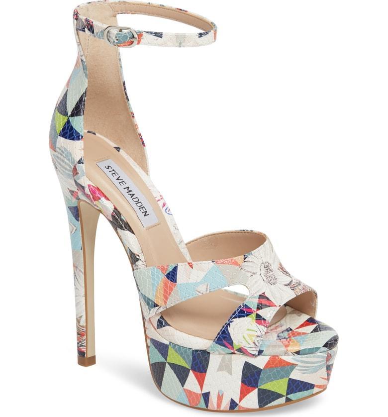 13a0d4d9f Steve Madden Janelle Platform Sandal In Bright Multi | ModeSens