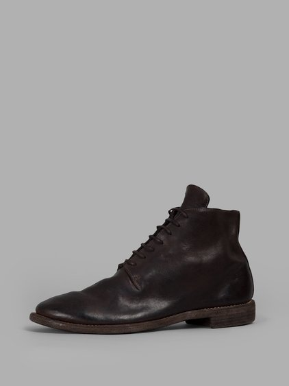 Guidi Brown Lace-up Boots
