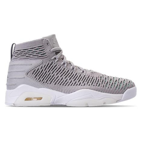 new concept 29bd8 b1b7a Nike Men s Air Jordan Flyknit Elevation 23 Basketball Shoes, Grey