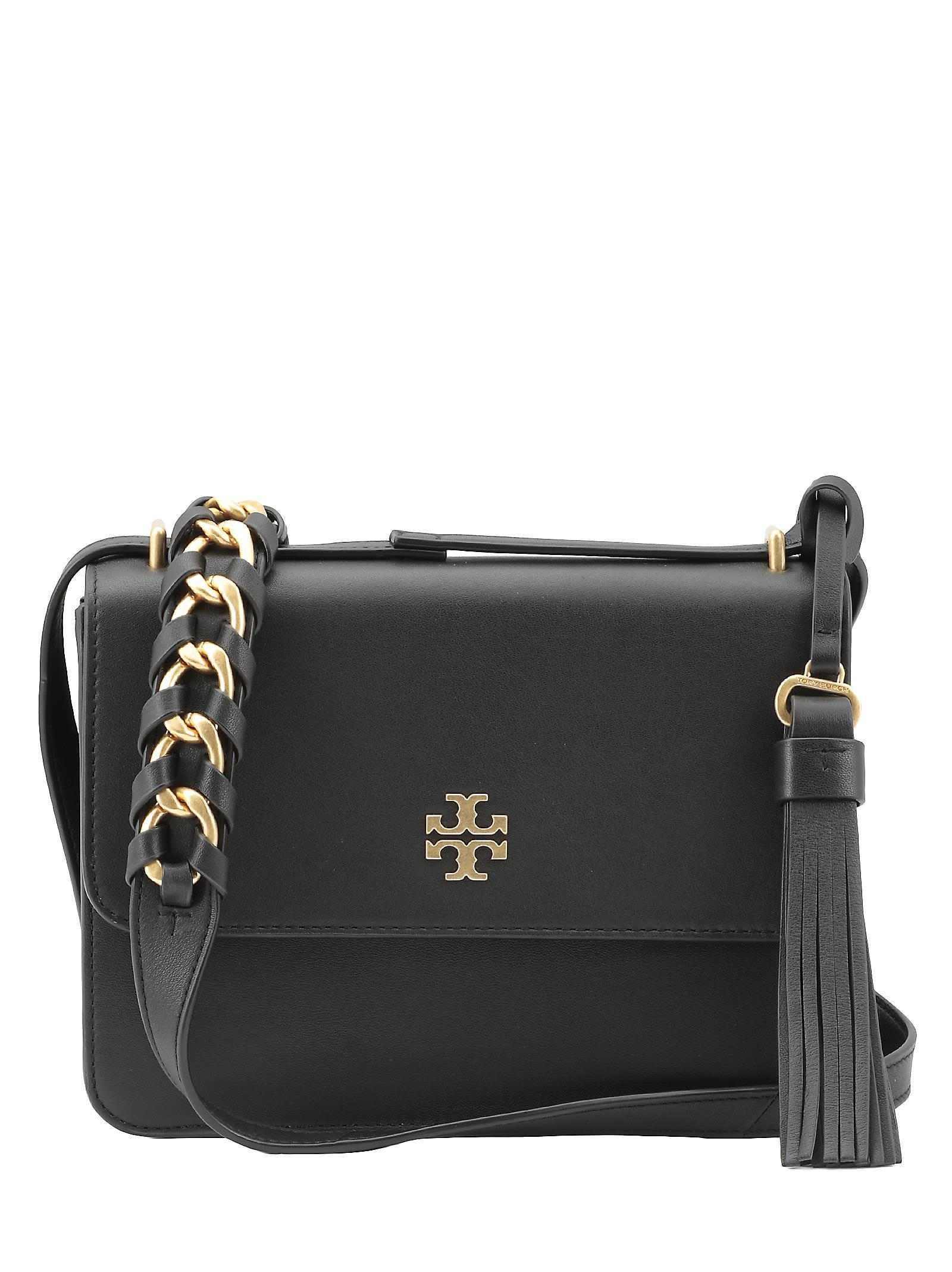 b7791322fb90 Tory Burch Brooke Shoulder Bag In Black