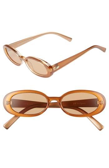 4d9aad4ee58e9 Le Specs Outta Love 49Mm Cat Eye Sunglasses - Caramel