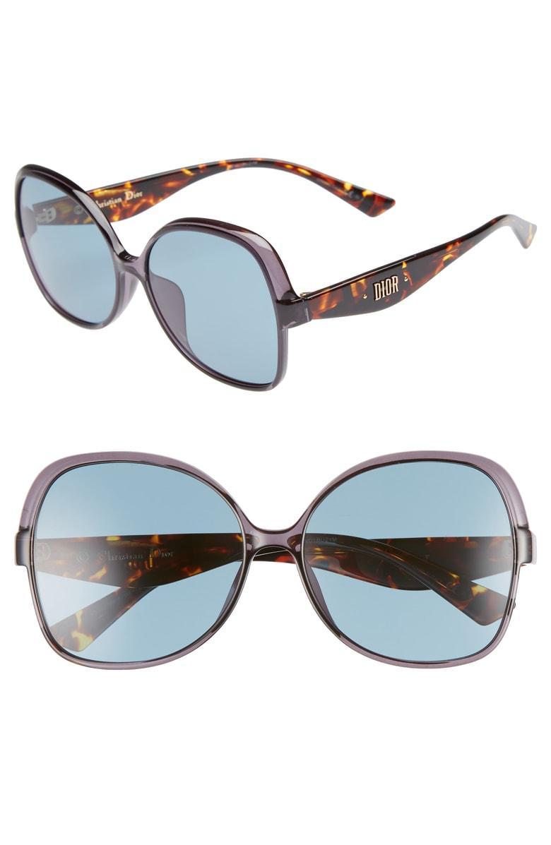 dbfd8c3b54 Dior Nuance F 60Mm Sunglasses - Grey