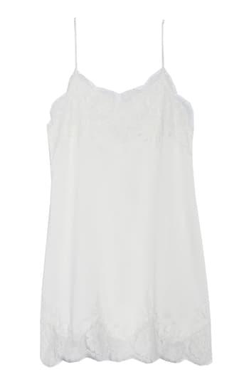Homebodii Olivia Chemise In White