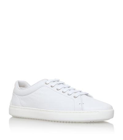 Rag & Bone Leather Sneakers In White