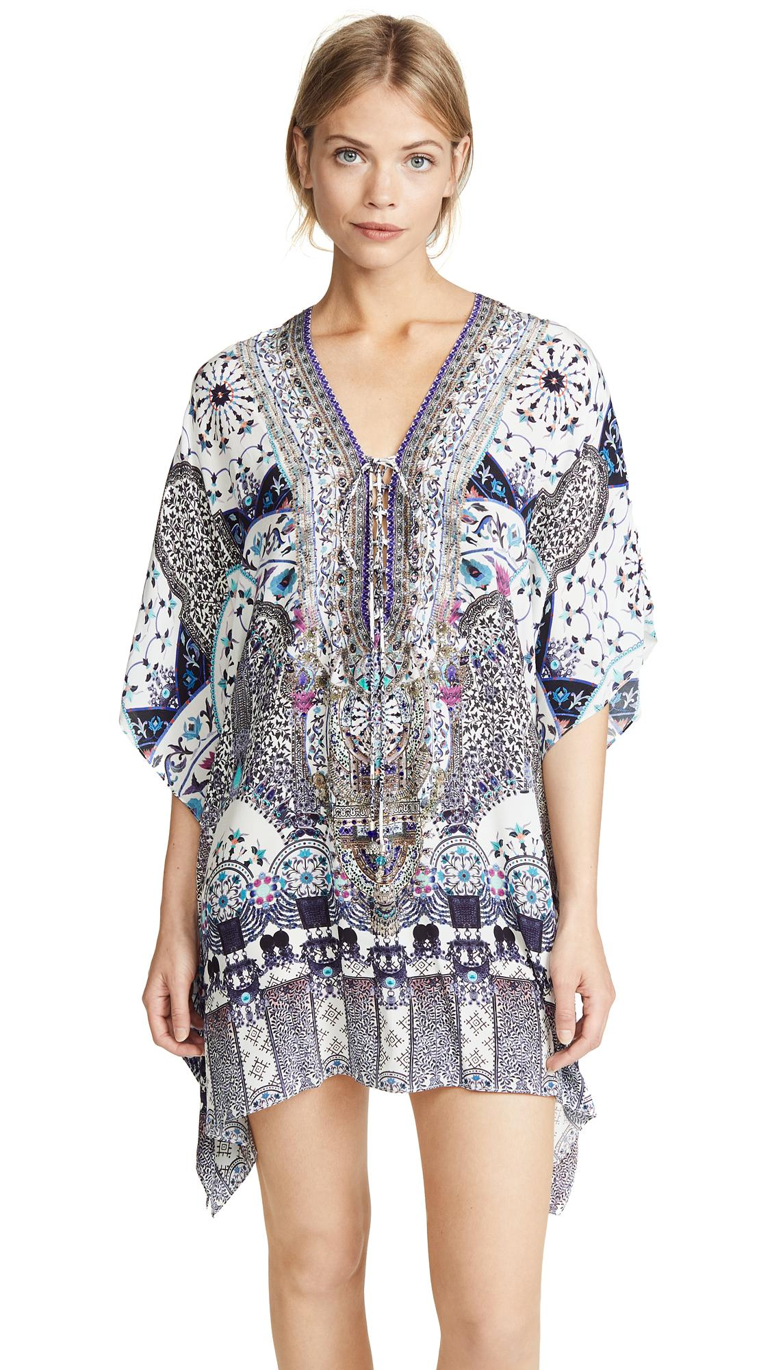 4ea8c069ca Camilla Short Lace Up Caftan In In The Constellations | ModeSens