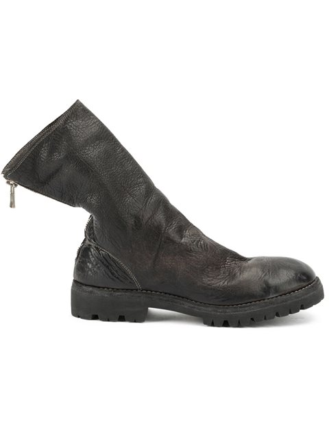 Guidi Back Zip Boots