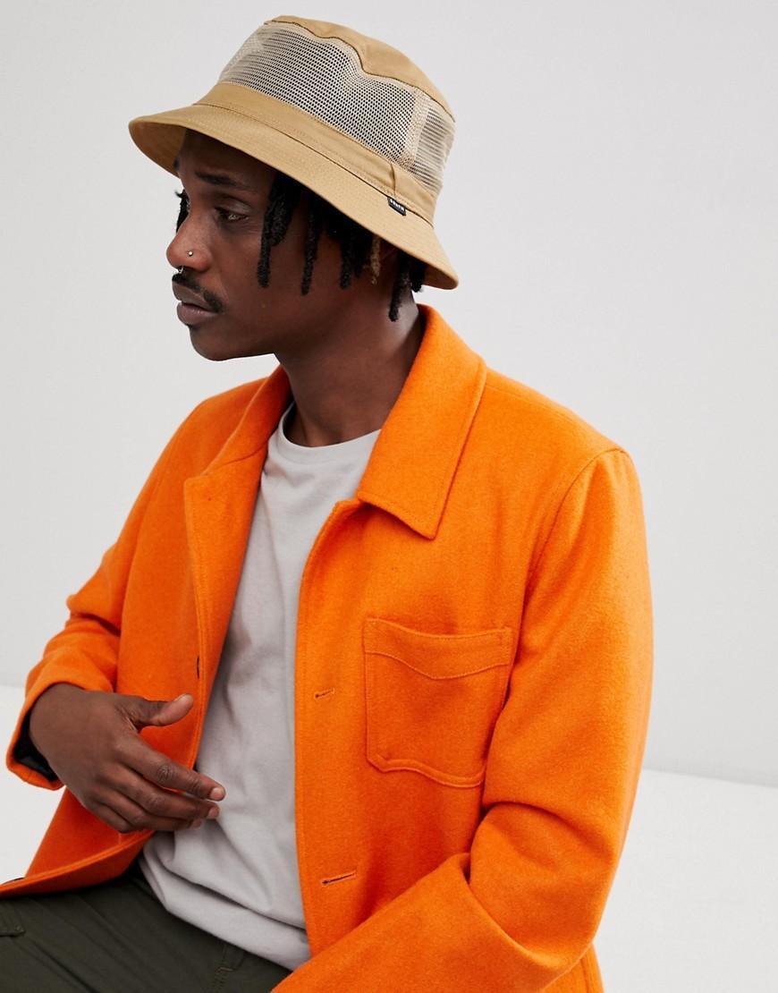 8fe029565 Hardy Bucket Hat With Mesh Panel - Beige