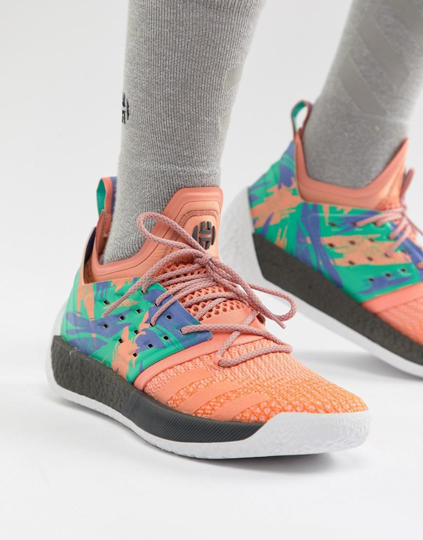 cf177b4649e7 Adidas Originals Basketball X Harden Vol 2 Graft Day Sneakers In ...
