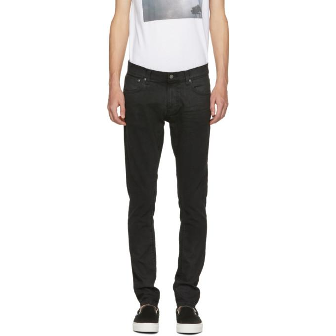73e9c90b5801a Nudie Jeans Black Tight Terry Jeans