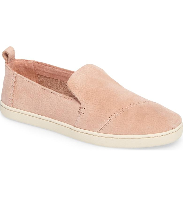 6e4ff64b4 Toms Deconstructed Alpargata Suede Slip In Bloom Nubuck Leather ...