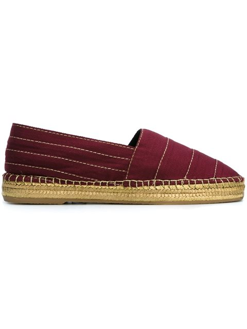 Marc Jacobs Sienna Flat Espadrille In Bordeaux
