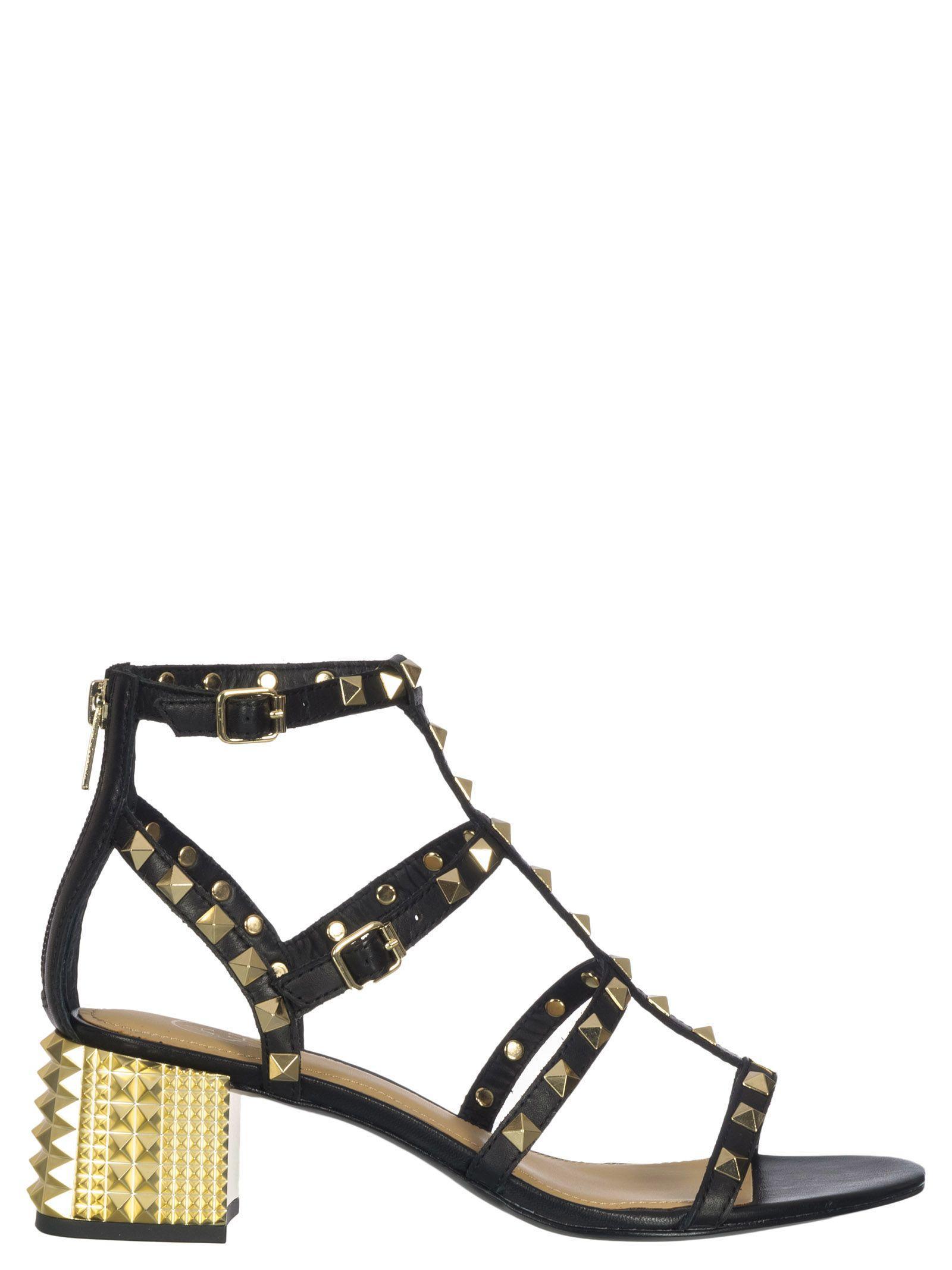 f7c8d30608e4 Ash Rolls Sandals In Black