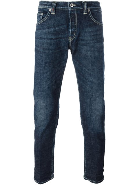 Dondup 'mius' Skinny Jeans In Blue
