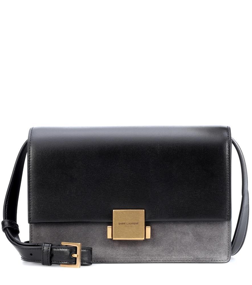 9120486ca Saint Laurent Medium Bellechasse Crossbody Bag In Grey | ModeSens