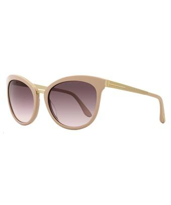Tom Ford Oval Sunglasses TF461 Emma 74F RoseGold FT0461 | eBay