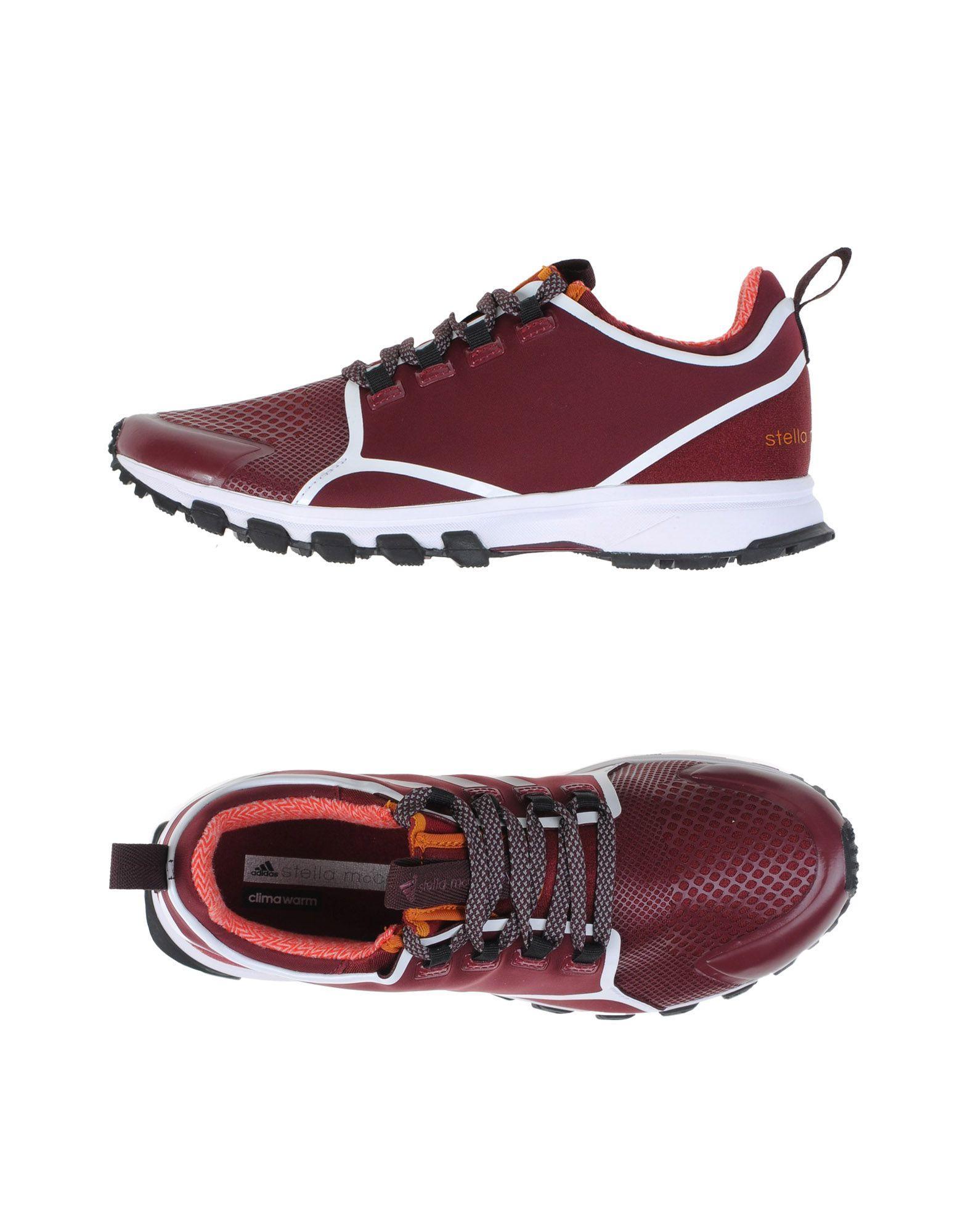 Adidas By Stella Mccartney Sneakers In Maroon