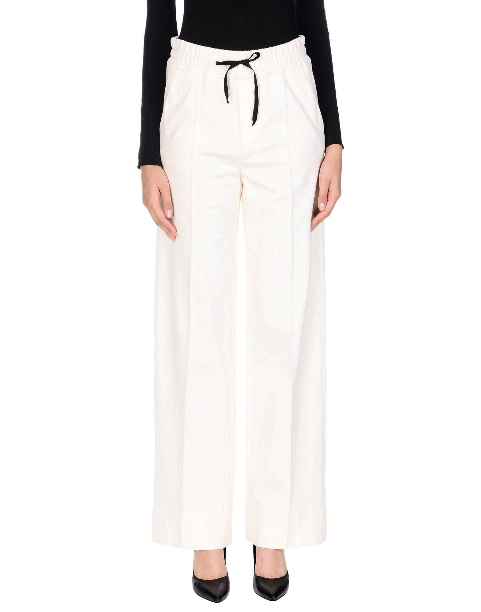 John Galliano Casual Pants In Ivory