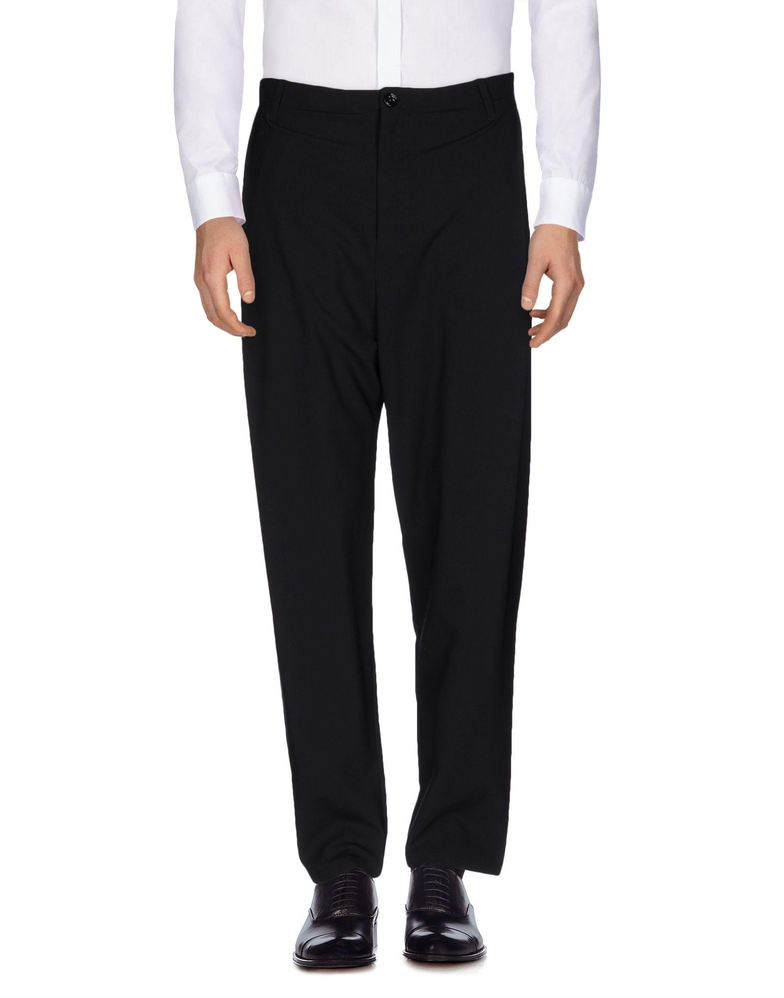 Silent Damir Doma Casual Pants In Black