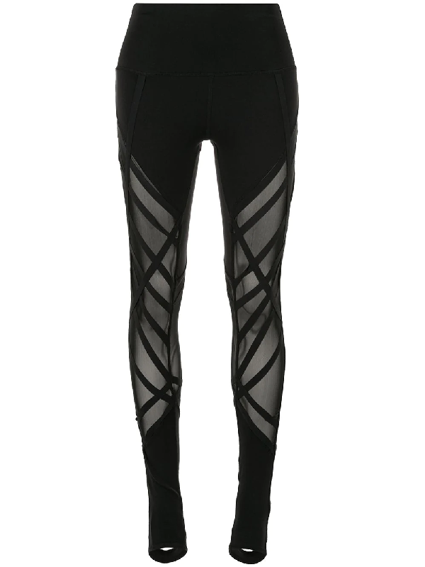 9c6c4da2ada7aa Alo Yoga High-Waist Wrapped Stirrup Leggings In Black | ModeSens