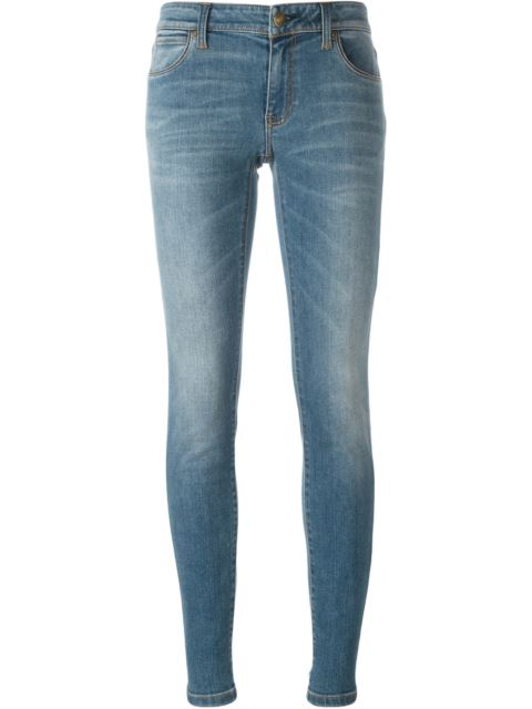 Burberry Relaxed Fit Stretch Indigo Jeans In Blue