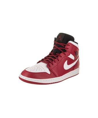 214591154e54 NIKE. Men s Air Jordan 1 Mid Retro Basketball Shoes ...