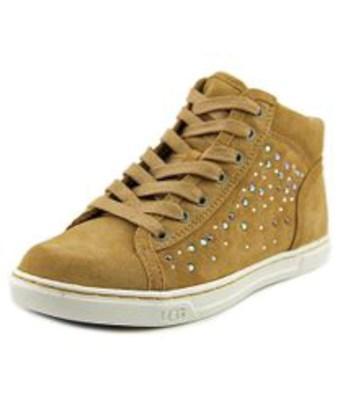 5a49e345737 Ugg Australia Womens W Taylah Hight Top Lace Up Fashion Sneakers in Brown