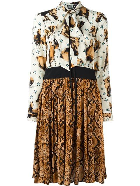 Fausto Puglisi Multi Print Dress