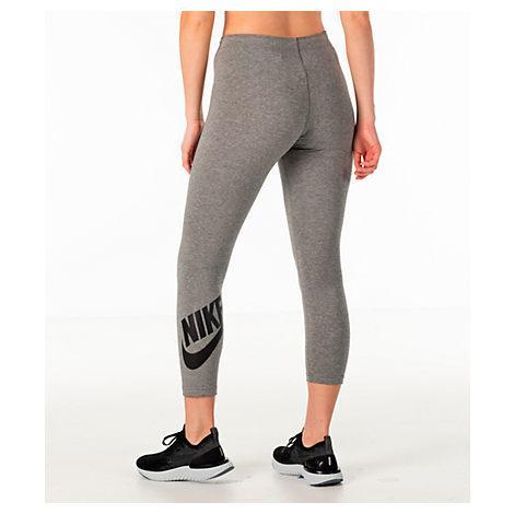 c549b1120e618 Nike Women's Sportswear Leg-A-See Crop Leggings, Grey | ModeSens