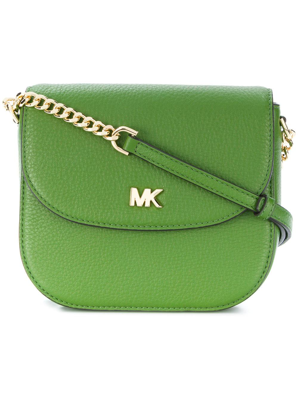 4abc2d9a79f3 Michael Michael Kors Half Dome Cross-Body Bag - Green