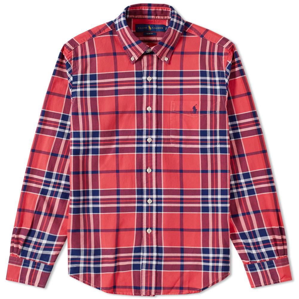 d5fde99c Polo Ralph Lauren Cotton Check Shirt In Multi | ModeSens
